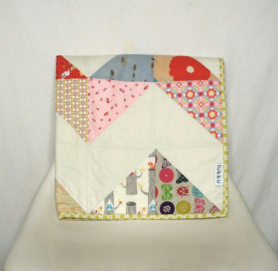 Baby quilt handmade by Lukku by Lukku on Etsy, $159.00