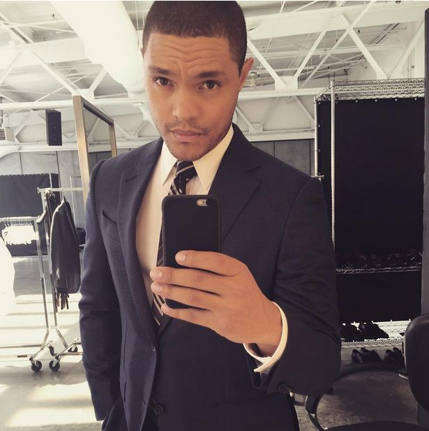 "Let's be honest: The man looks good in a suit. | ​​Definitive Proof That ""The Daily ​​Show""​ Is In Good Hands With Trevor Noah"