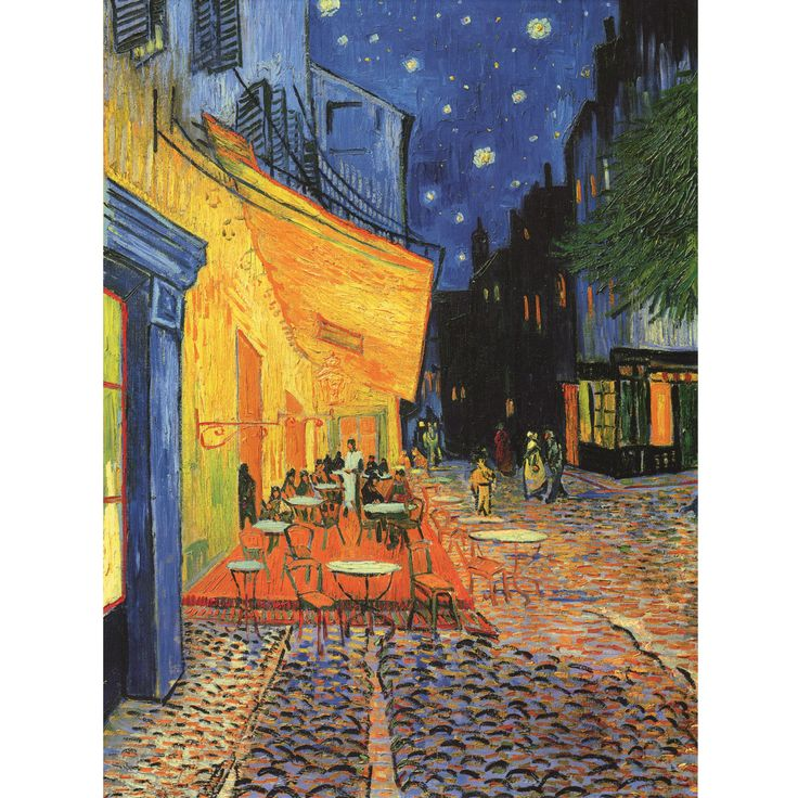 Cafe Terrace at Night / by Vincent Van Gogh: Gogh Paintings, Paintings Repin, Vincent Vans Gogh, Favorite Vans, Beautiful Vans, Vans Gogh Repin, Favorite Paintings, Summer Night, Cafe Terraces