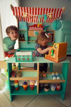 Dreamland speelgoedwinkeltje makeover