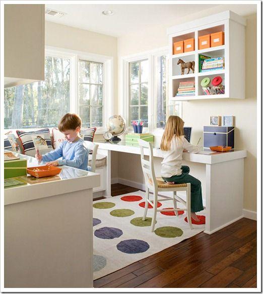15 Homework Station Ideas To Help Me Organize Kids Office Area