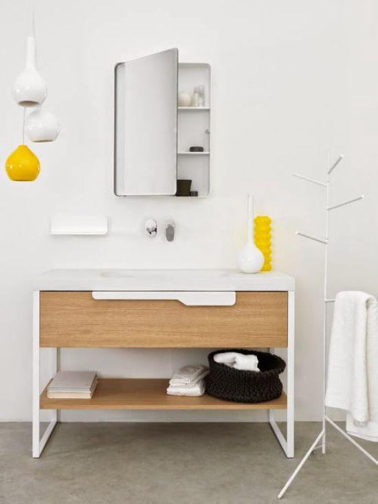 De 73 ideas de decoraci n para ba os modernos peque os - Cuartos de bano modernos pequenos ...