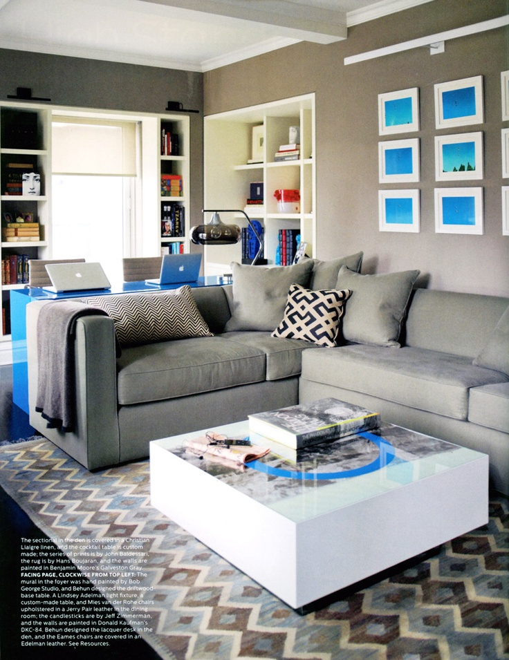 Madeline Weinrib Black Chevron Blockprint Pillow In Ivanka Trumps Park Avenue Apartment Via Elle Decor