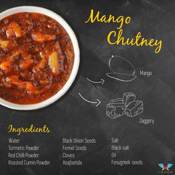 #Mango Chutney with the ingredients