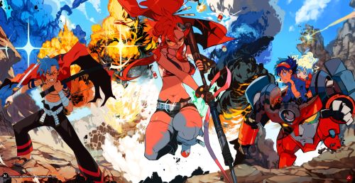 jc125:  All together now!Finally! After hours of work, Kamina is...