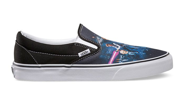 """The Star Wars x Vans Slip-On """"A New Hope"""" iteration is newly on sale at Bows & Arrows for just over 40% off retail with a few nice sizes to pick from!"""