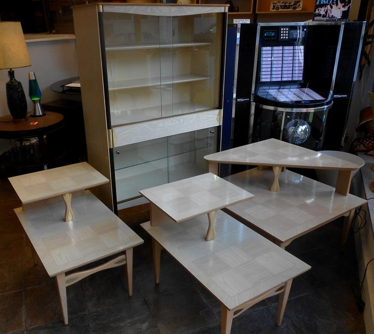 1950s Mid Century End Table By Lane Furniture: 93 Best Images About 1950's Blond Furniture On Pinterest