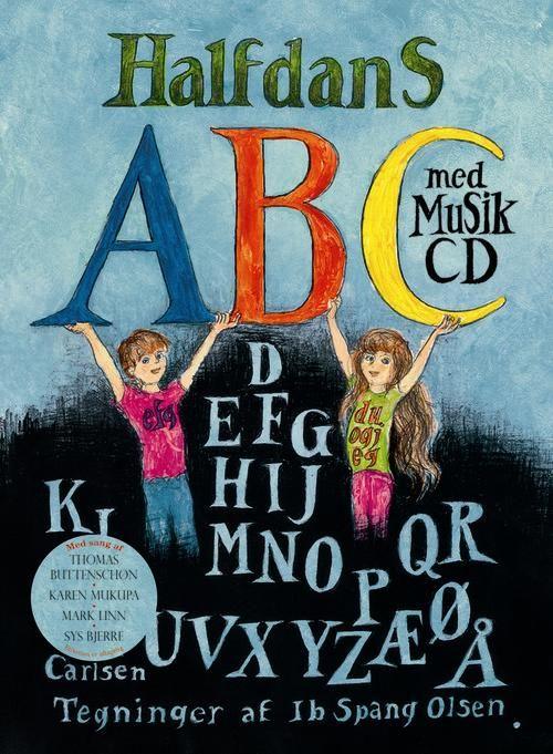 HALFDANS ABC MED CD (NY) | Arnold Busck