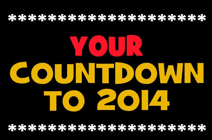 loes New Year Countdown 2014 | Days Left Til New Year | Count Down NYE