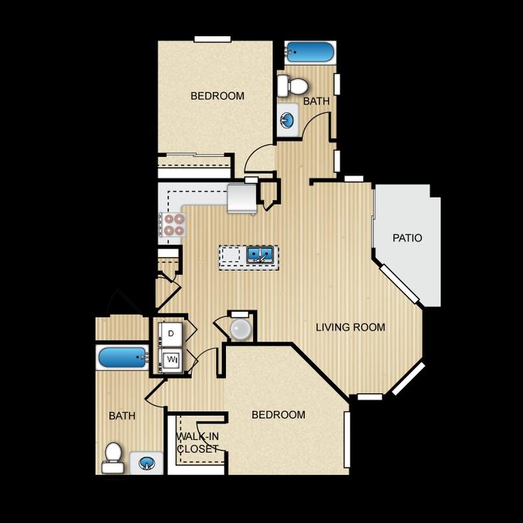 Elevation Wood Flooring : Elevation apartments flagstaff arizona floor plan