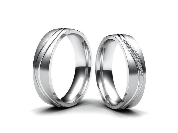 💍 Dnes bych vám chtěl představit nové snubní prsteny z mé dílny. Prsteny jsou vyrobeny z bílého zlata, osazeny brilianty. Jak se vám šperky líbí?