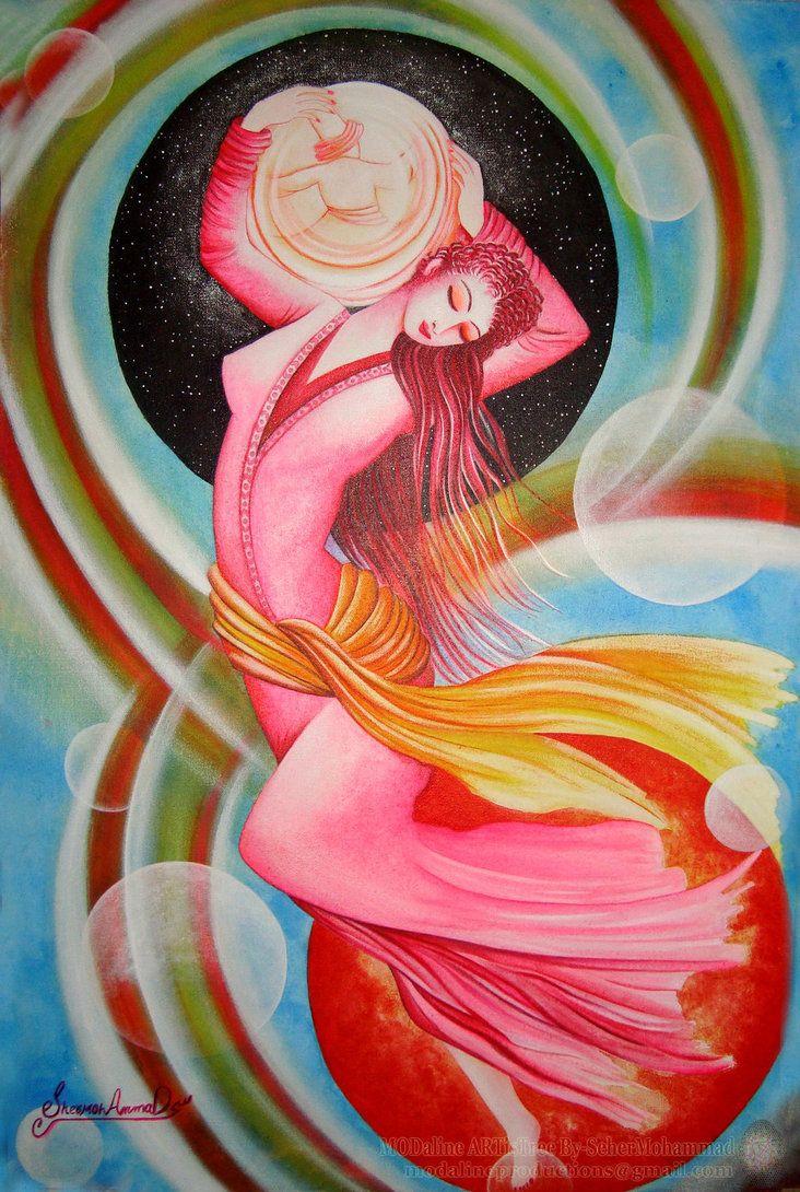 The Dancing Petal of Ecstasy-Original by MODalineARTisTree.deviantart.com on @DeviantArt