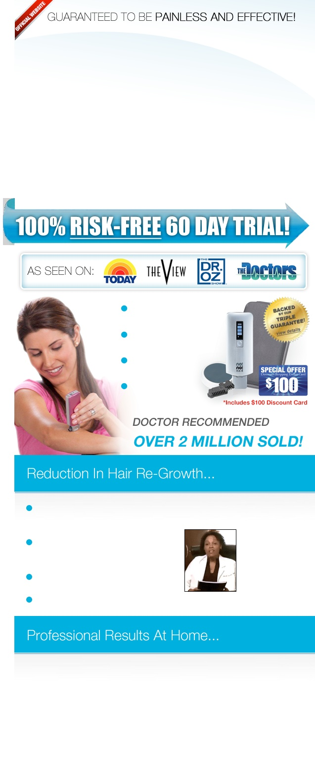No No Hair - Guaranteed to be painless and effectiveNono Hair, Removal System, Official Site, Videos Hair, Free Offering, Free Stuff, Hair Site, Hair Removal, Alpharetta Free