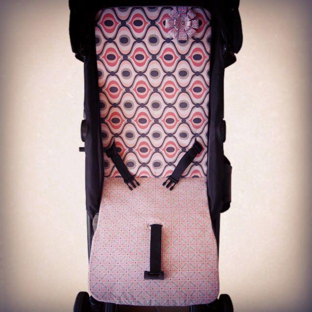 DIY. Colchoneta silla paseo. Tutorial para hacer una personalizada y original colchoneta para la silla de paseo de tu bebé.  Http://sofiasthings.com