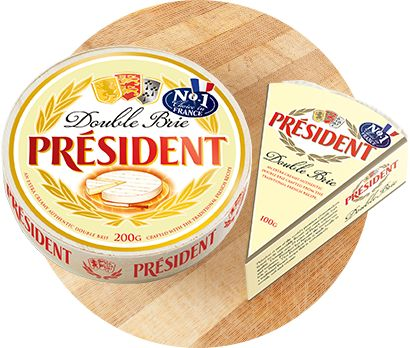 President Cheese - Double Brie