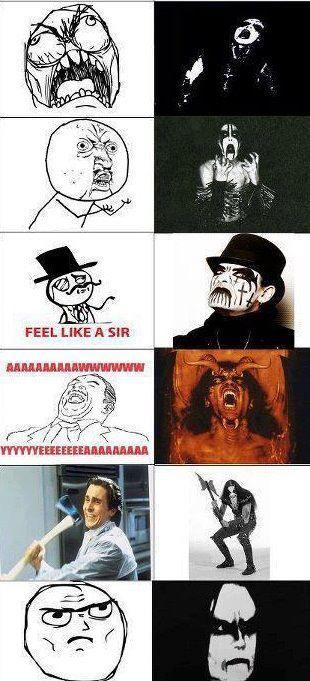 Black metal memes :D