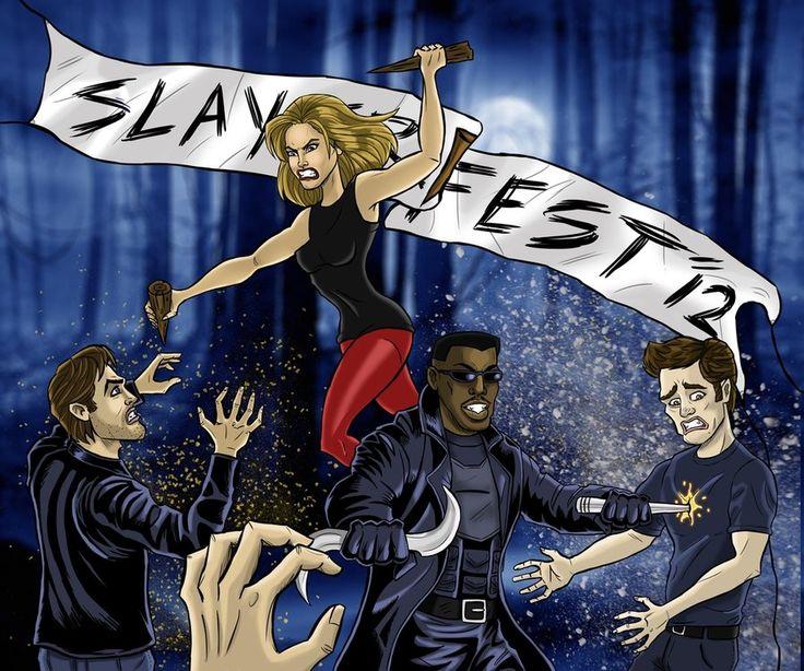 Slayer fest 2012 by e bolo on deviantart buffy blade edward twilight