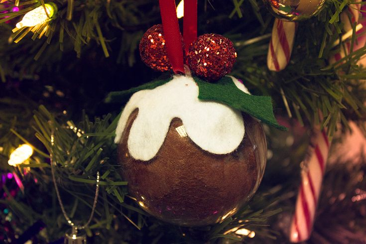 homemade baubles - Google Search