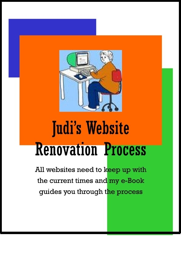 Once you build a website it is time to renovate to keep up.