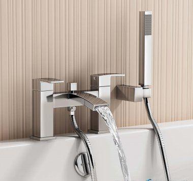 Brisbane Bath Mixer Tap with Hand Held [PT-TB2095] - £108.89 : Platinum Taps & Bathrooms