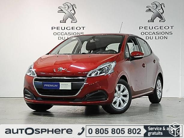 Peugeot 208 (2) berline S&S 1.6 BlueHDi 75 ch diesel Active 5 portes 2015 d'occasion garantie 12 mois. Reprise - Financement - Extension de garantie possible. Saint Cyr sur Loire - Tours - PEUGEOT GRANDS GARAGES DE TOURAINE