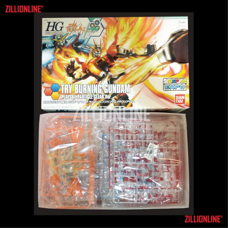 [MODEL-KIT] HG 1/144 - HGBF 1/144 - TRY BURNING GUNDAM [PP CLEAR VERSION].  100% Transaksi Sukses dari 1 Transaksi Bagikan :   BANDAI GUNPLA - 1/14... [BANDAI] HGBF 1/144 - TRY BURNING GUNDAM [PP CLEAR VER.]. Item Size/Weight: 30 x 19.2 x 8.2 cm. / 336 g*. (*ITEM SIZE & WEIGHT BEFORE PACKAGED). Condition: MINT / NEW & SEALED RUNNER. Made by BANDAI.