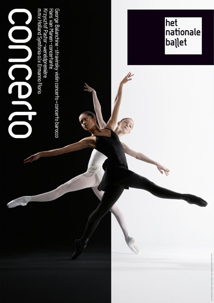 poster | Concerto | Het Nationale Ballet