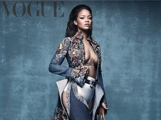 Blogue do Lelo: Rihanna estampa a capa da Vogue britânica