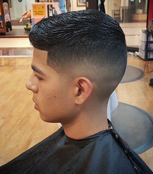 Wet Look Hairstyle for Boys, back to school edition