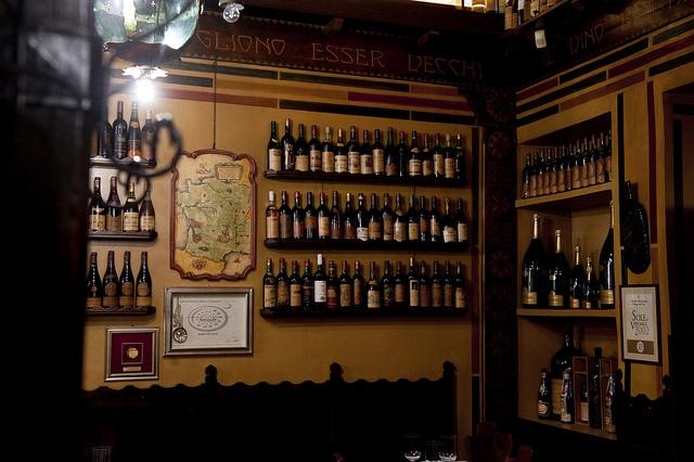 Wine's corner.