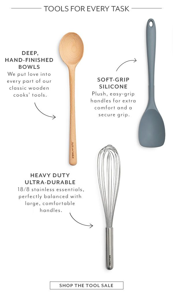 Kitchen Tools For Every Cooking Task By Sur La Table I Lover Sur La Table And Some Of My Favorite Kitchen Kitchen Essentials Cooking Tools Favorite Kitchen