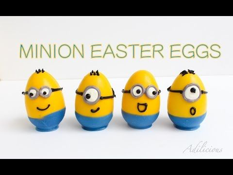 Minion Easter Egg | Surprise Inside Easter Egg - YouTube