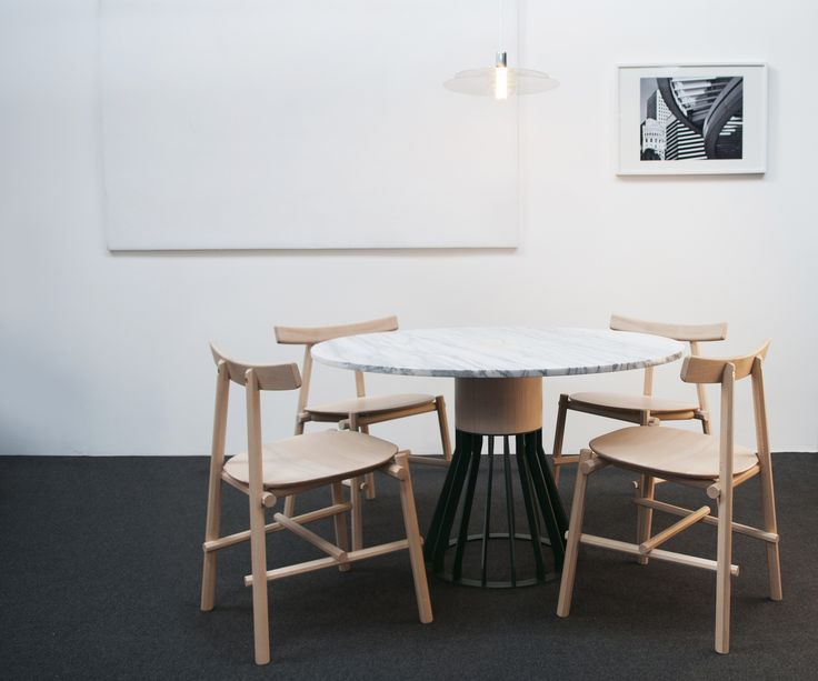 Mewoma Table By Jonah Tagaki , Ronin Chair By Frederik Werner U0026 Emil Lagoni  Valbak For La Chance   Photo By Joséphine Aury   Www.