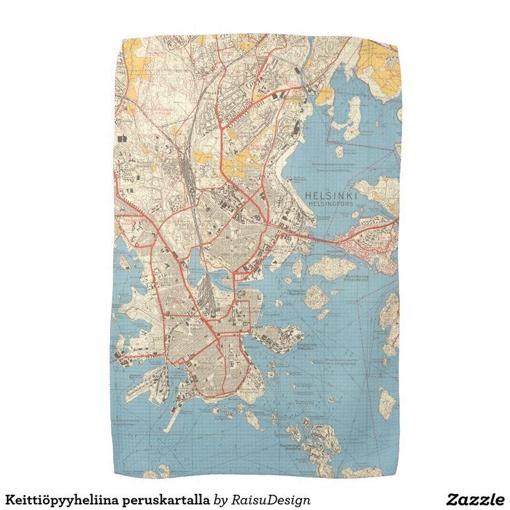 Helsinki keittiöpyyheliina kitchen towel