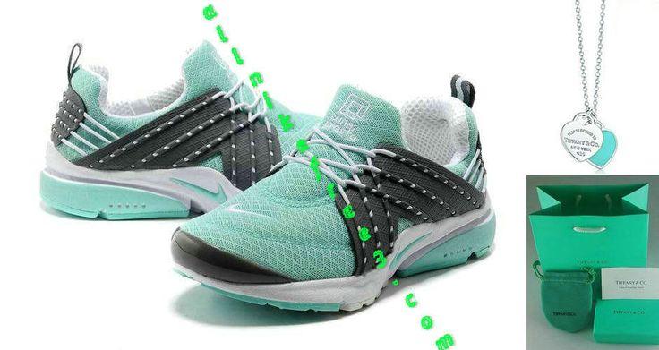 Nike Air Presto Womens Tiffany Blue Carbon Black 579915 015