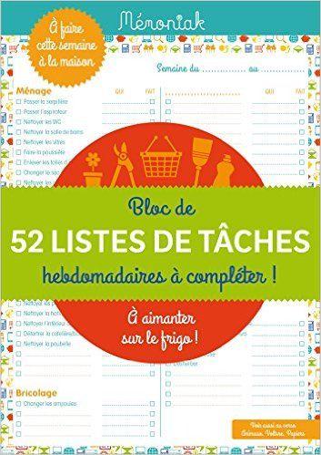 Amazon.fr - A FAIRE CETTE SEMAINE MEMONIAK 2016 - Collectif - Livres
