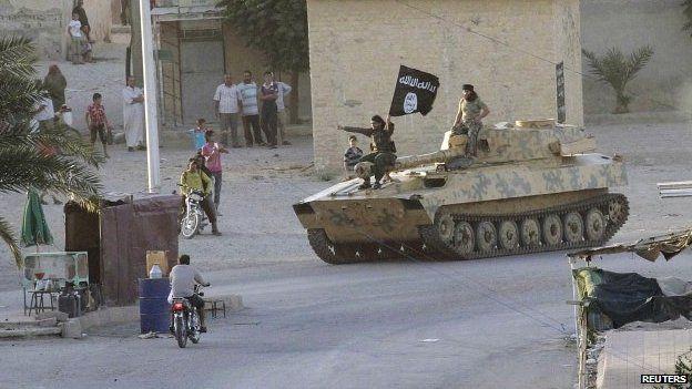 Syria crisis: Islamic State fighters seize Aleppo towns - Source - BBC News - © 2013 BBC #IslamicState, #Syria, #Aleppo