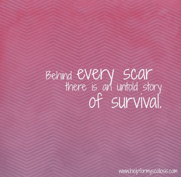 Inspirational Scoliosis Quotes