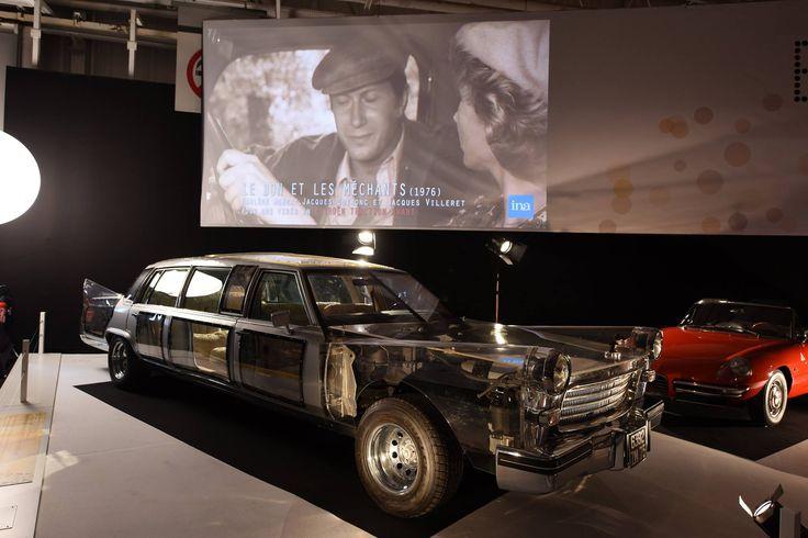 """L'exposition du Mondial de l'Automobile à ne pas manquer : """"Moteur ! L'automobile fait son cinéma"""".  Peugeot 404 - L'écume des jours  RDV Hall 8 jusqu'au 16 Octobre !"""