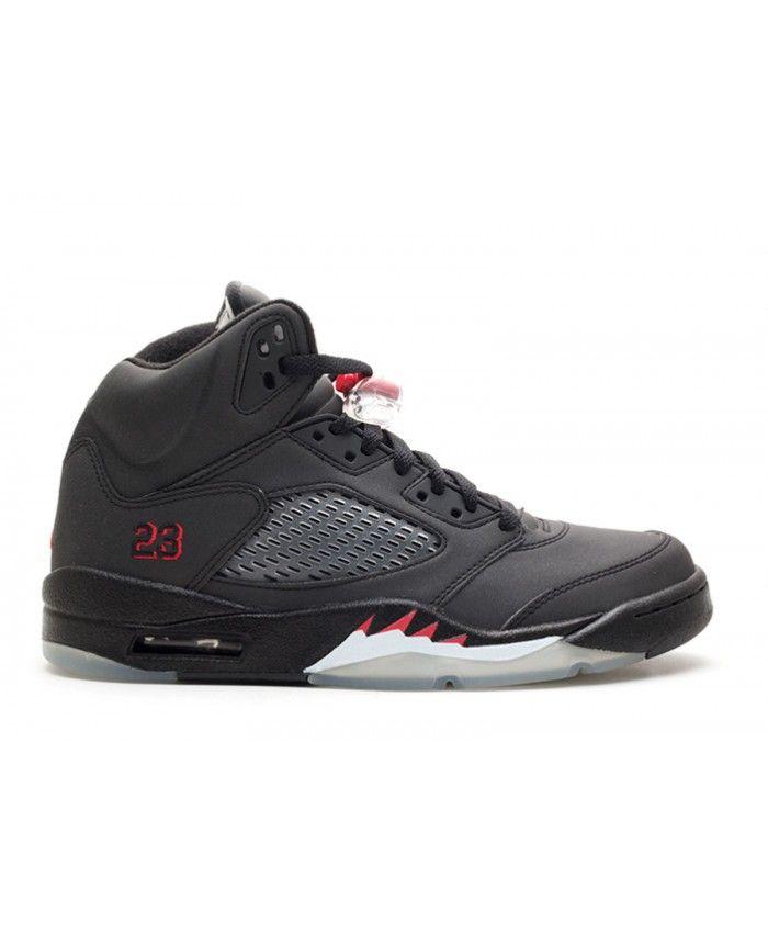 Air Jordan 5 Noir 3m À Vendre