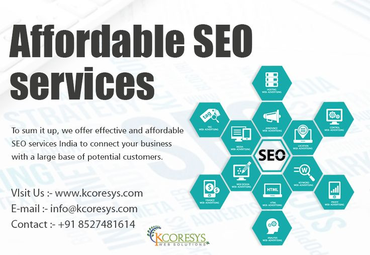 We're Pro SEO team provide affordable SEO services for ...