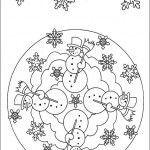 anasınıfı kış mevsimi mandalası boyama sayfası (2)