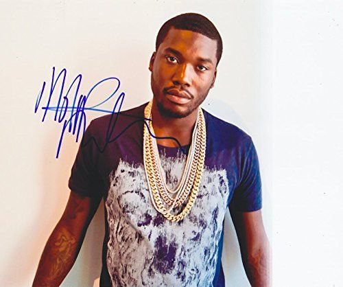 Meek Mill Autographed Signed 8x10 Coa Maybach Music