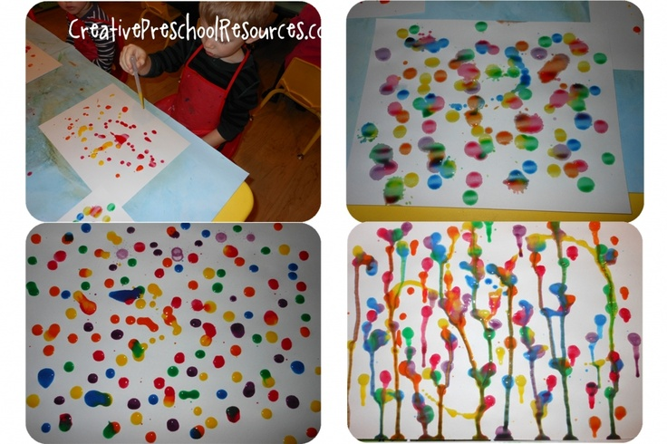 Rainbow crafts- creative preschool resources