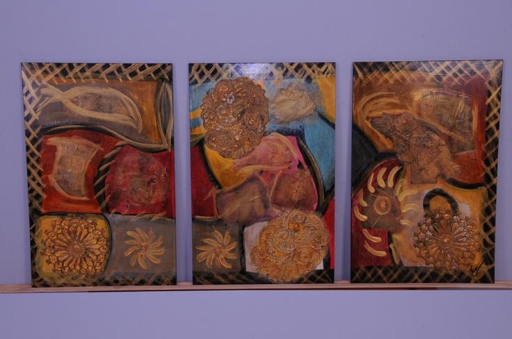 Cuadros con texturas mixtas imagui - Cuadros con texturas abstractos ...