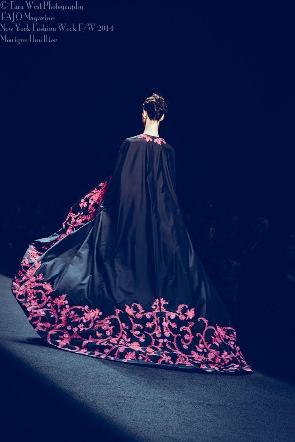 New York Fashion Week F/W 2014 FAJO Magazine Designer: Monique Lhuillier