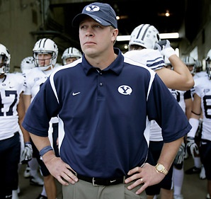 Bronco Mendenhall from http://justanotherdumb.com/2010/bronco.jpg