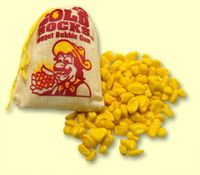 Oh my god! We ate tonnes of this stuff as kids...terrible bubble gum but we were addicted to the stuff!  Gold Rocks Nugget Bubble Gum