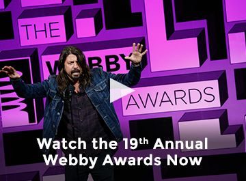 Watch The 19th Annual Webby Awards Now