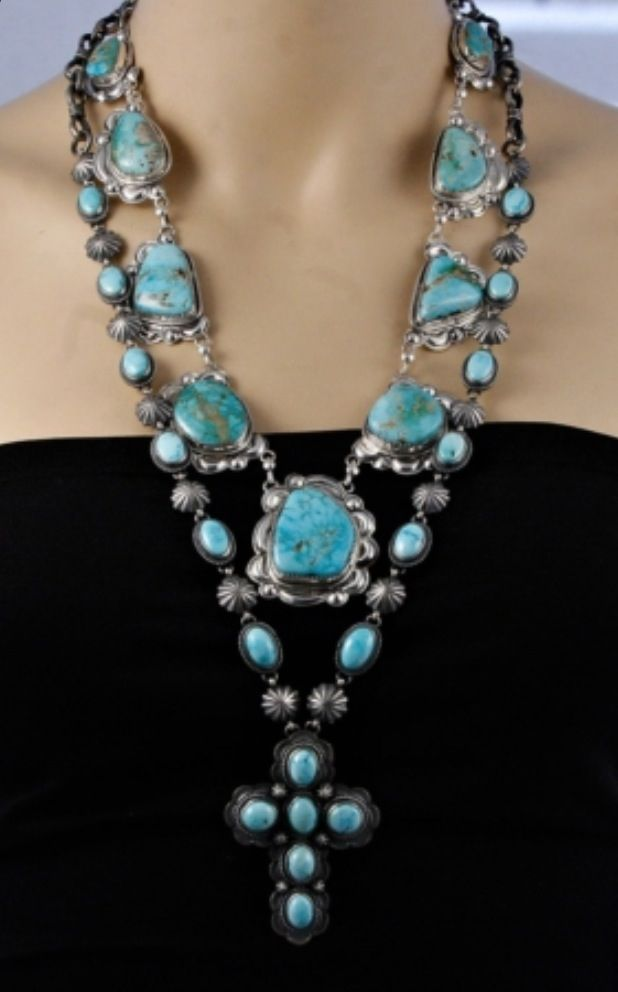 Omg! Get on my neck! turquoise necklace